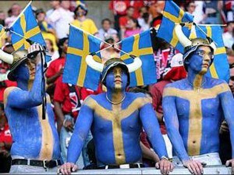 Шведські фани