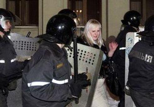 Присутніх заарештували без пояснення причин