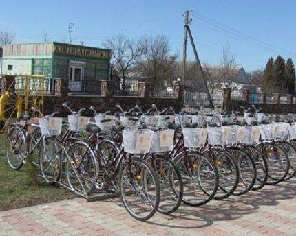 Велосипеды от фонда Литвина