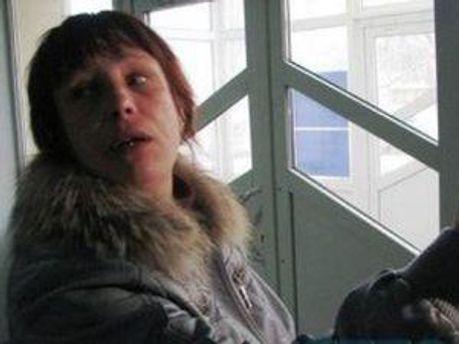 Мать пострадавшей Оксаны Макар Татьяна Суровицкая