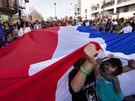Марш в Тулузе