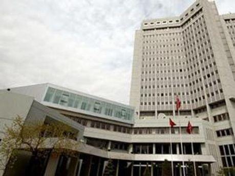 Здание Министверства иностранных дел Турции