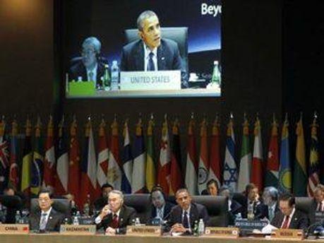 Світові лідери на саміті в Сеулі