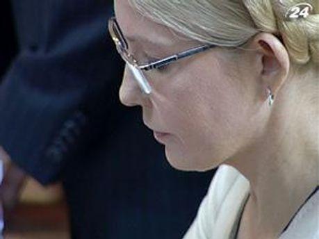 Екс-прем'єр міністр України Юлія Тимошенко