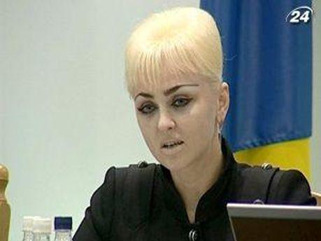 Заступник голови ЦВК Жанна Усенко-Чорна