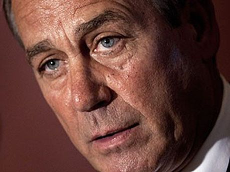 Спикер палаты представителей конгресса США Джон Бонер