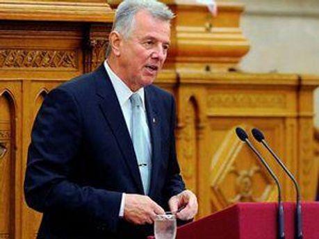 Президент Угорщини Пал Шмітт