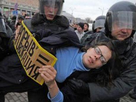 Задержание оппозиционеров
