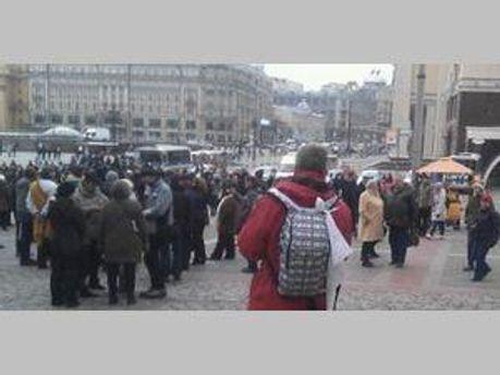 Оппозиционеры вокруг Красной площади