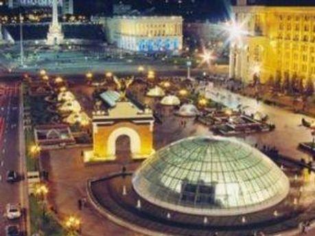 Фан-зоны будут в центре Киева