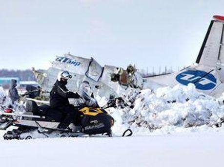 Крушение самолета в Тюмени