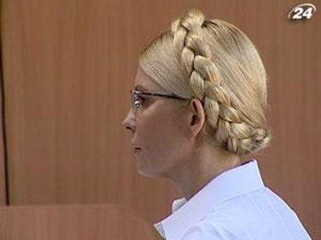 Экс-премьер-министр Украины Юлия Тимошенко