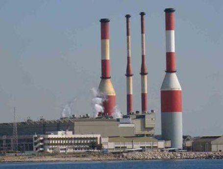 Электростанция на Кипре