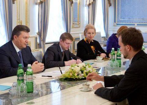 Зустріч Віктора Януковича та Девіда Креймера