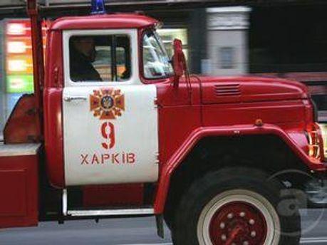 Авто пожежної служби Харкова