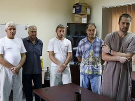 Задержанные украинцы