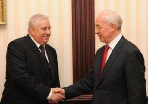 Владимир Семашко и Николай Азаров