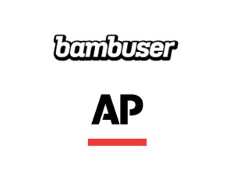 Логотипи Bambuser та Associated Press