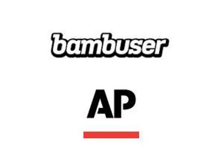 Логотипы Bambuser и Associated Press