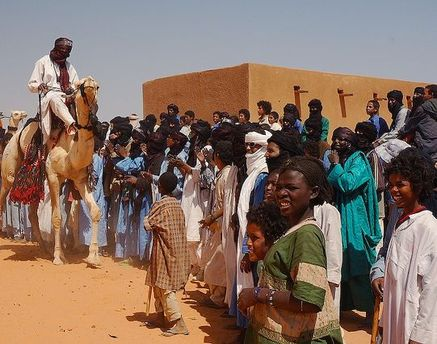Люди племени туарегов