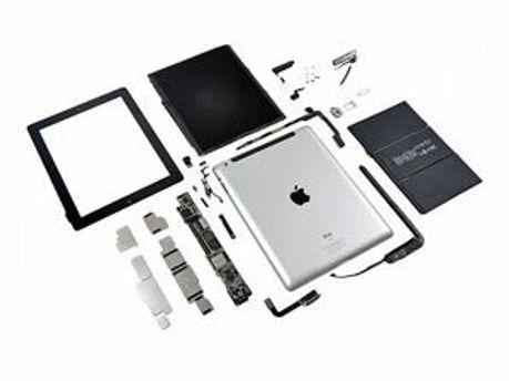 Розібраний iPad