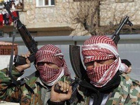 Сирийские повстанецы