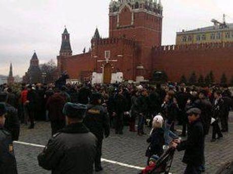 Митинг на Красной площади