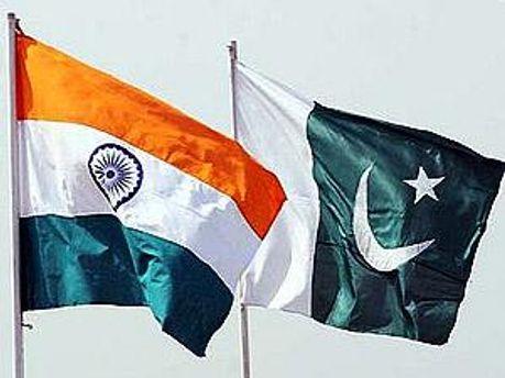 Флаги Индии и Пакистана