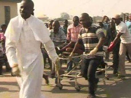 Пострадавшие в Нигерии