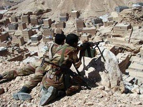 Йеменские солдаты