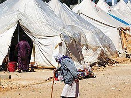 Табір сирійських біженців
