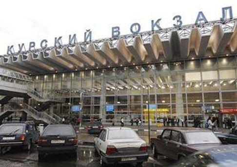 Курський вокзал в Москві
