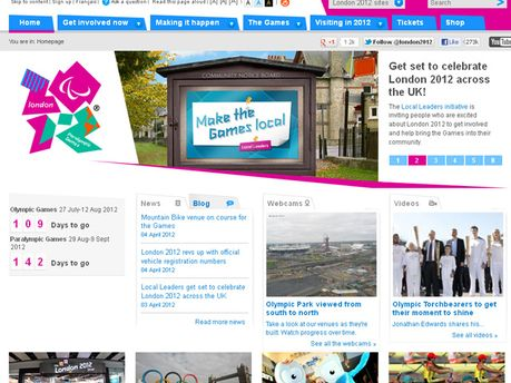 Сайт Олимпиады в Лондоне