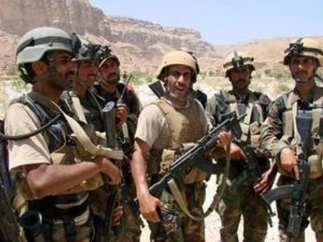 Военные на юге Йемена