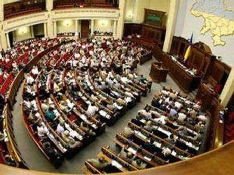 Зал засідання Верховної Ради