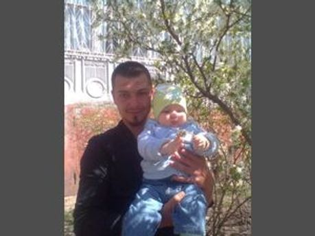 Євген Краснощок із донькою