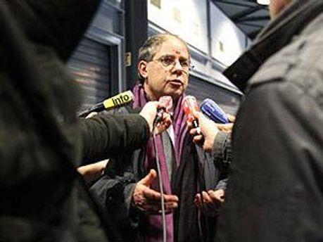 Представитель МИД Франции Бернар Валеро