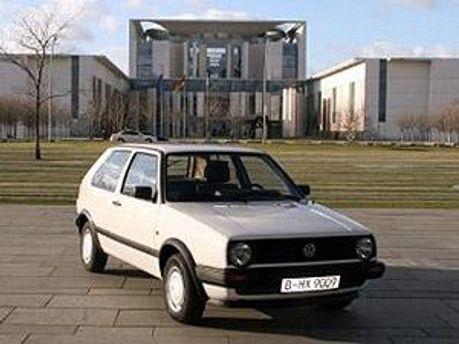 Volkswagen Golf Ангелы Меркель