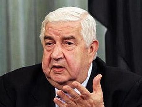 Глава МЗС Сирії Валід Муаллем