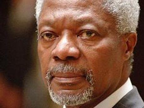 Спецпредставитель ООН и Лиги арабских государств Кофи Аннан