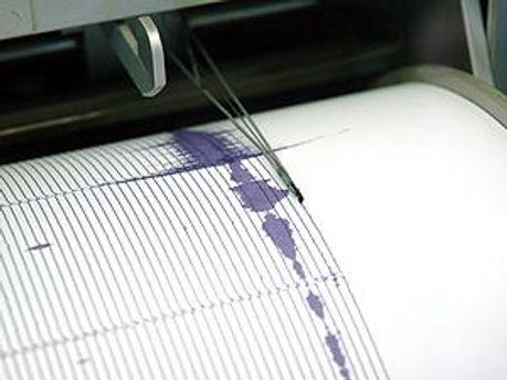 График фиксации землетрясений