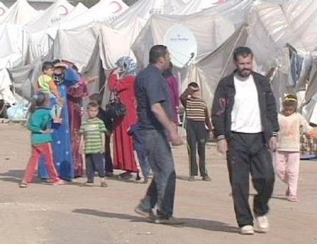 Табір сирійських біженців в Туреччині