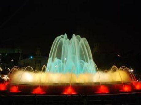 Світломузичний фонтан