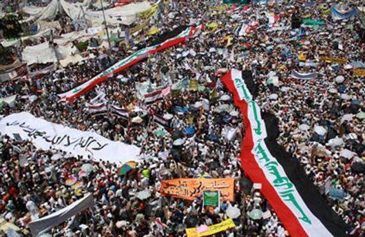 Площадь Тахрир в Каире