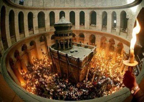 Сходження Благодатного вогню в Єрусалимі