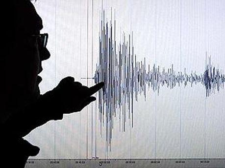 График землетрясения