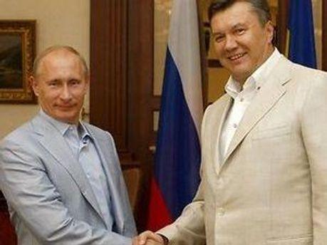 Володимир Путін і Віктор Янукович