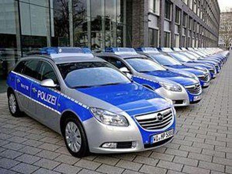 Новые авто немецкой полиции