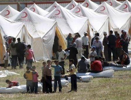 Табір сирійських біженців у Туреччині