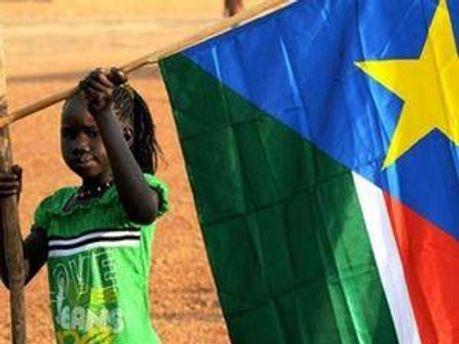 Прапор Південного Судану